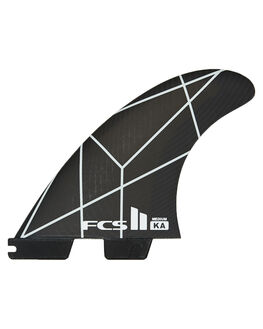 WHITE GREY BOARDSPORTS SURF FCS FINS - FKAS-PC03-TS-RWHIGR