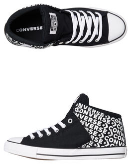 BLACK MENS FOOTWEAR CONVERSE SNEAKERS - SS163954BLKM