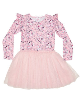BLOSSOM KIDS GIRLS LITTLE HEARTS DRESSES + PLAYSUITS - AW20_LSFTTDBLOS
