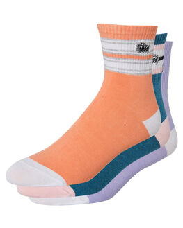 MULTI WOMENS CLOTHING STUSSY SOCKS + UNDERWEAR - ST783021MUL
