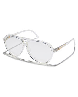CRYSTAL CLEAR MENS ACCESSORIES CRAP SUNGLASSES - 164M22CLCRYST