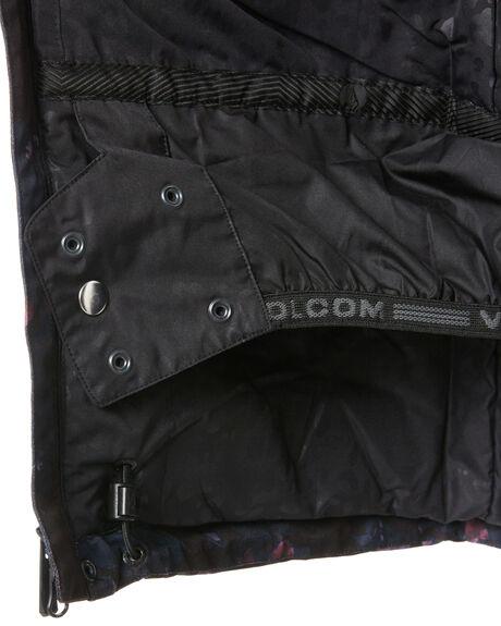 BLACK FLORAL PRINT BOARDSPORTS SNOW VOLCOM WOMENS - H0452012BFP