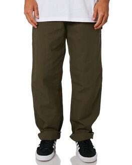 RINSED MOSS GREEN MENS CLOTHING DICKIES PANTS - 1939RMS