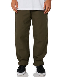 RINSED MOSS GREEN MENS CLOTHING DICKIES PANTS - 1939RMS