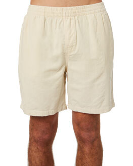 OFF WHITE MENS CLOTHING STUSSY SHORTS - ST082601OFWHT