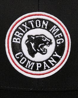 BLACK MENS ACCESSORIES BRIXTON HEADWEAR - 00988BLK