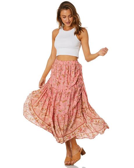 PINK WOMENS CLOTHING SHAREEN SKIRTS - MS01120PNK