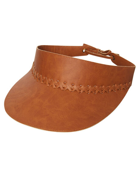 TAN WOMENS ACCESSORIES RHYTHM HEADWEAR - ACC00W-HW04TAN