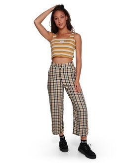 OATMEAL WOMENS CLOTHING RVCA PANTS - RV-R207273-O10