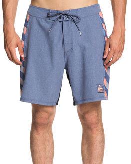 BIJOU BLUE MENS CLOTHING QUIKSILVER BOARDSHORTS - EQYBS04016BNG6
