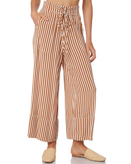 GOLD STRIPE WOMENS CLOTHING RUE STIIC PANTS - WS18-09-GP-FGSTR