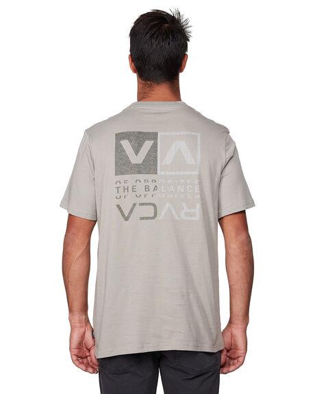 OVERCAST MENS CLOTHING RVCA TEES - RV-R107045-OVC