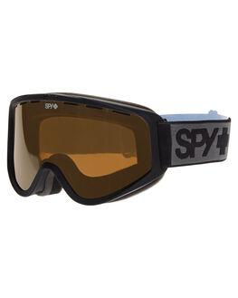 BLACK BRONZE SILVER BOARDSPORTS SNOW SPY GOGGLES - 313346374479BLK