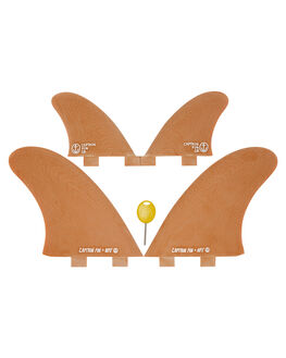 BROWN BOARDSPORTS SURF CAPTAIN FIN CO. FINS - CFF3311800BRN