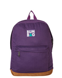 PURPLE MENS ACCESSORIES THE BUMBAG CO BAGS + BACKPACKS - BP001PUR