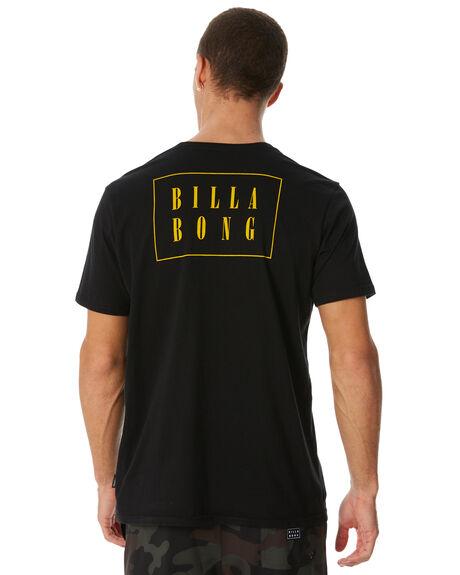 BLACK MENS CLOTHING BILLABONG TEES - 9581006BLK