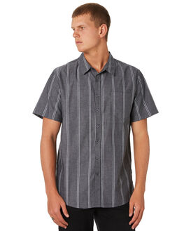 NAVY CHAMBRAY OUTLET MENS SWELL SHIRTS - S5193170NVYCH
