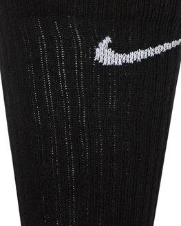 BLACK WHITE MENS CLOTHING NIKE SOCKS + UNDERWEAR - SX7664010