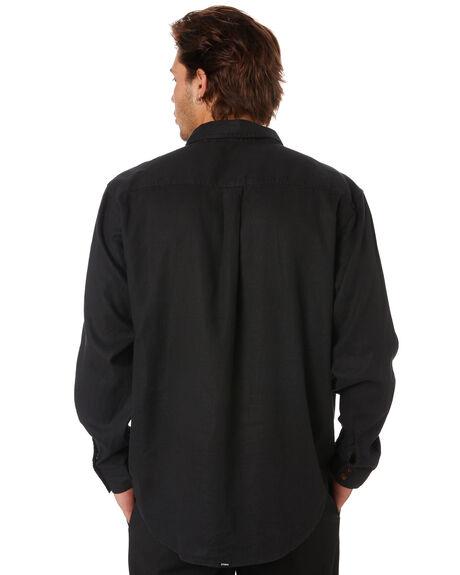MERCH BLACK MENS CLOTHING THRILLS SHIRTS - TS9-201MBMCBLK