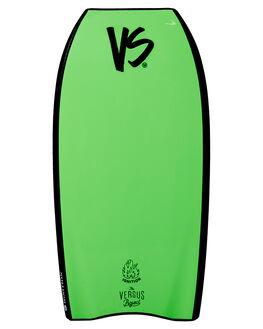 BLACK FLURO GREEN BOARDSPORTS SURF VS BODYBOARDS BOARDS - V19IGNITE41BLBLKFG