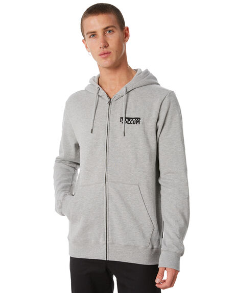 GREY MENS CLOTHING VOLCOM JUMPERS - A4811801GRY