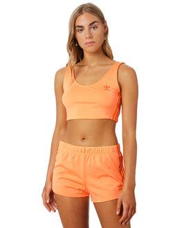 FLASH ORANGE WOMENS CLOTHING ADIDAS ACTIVEWEAR - ED7464ORG