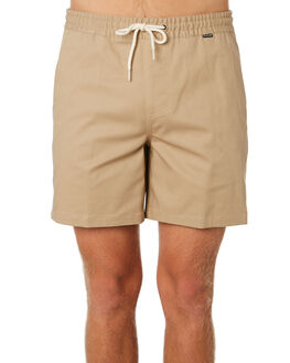 KHAKI MENS CLOTHING HURLEY SHORTS - AV7955235