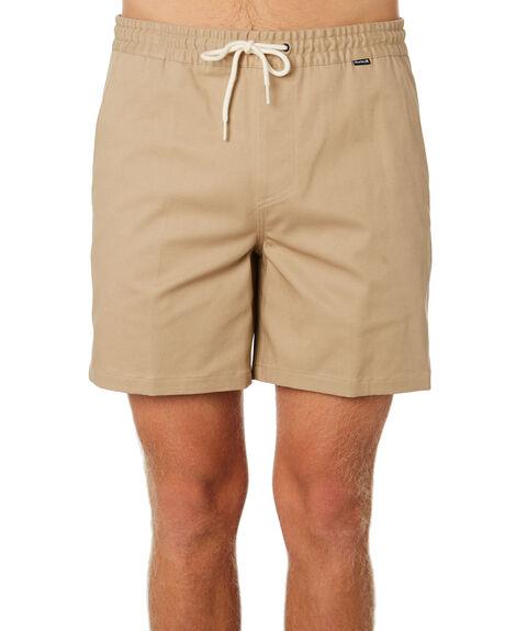 KHAKI MENS CLOTHING HURLEY SHORTS - AV7955235