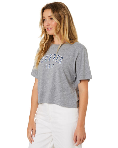 GREY MARLE WOMENS CLOTHING HUFFER TEES - WTE84S72230GRYM