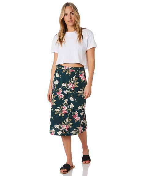 EMERALD GREEN WOMENS CLOTHING VOLCOM SKIRTS - B1441900EMG