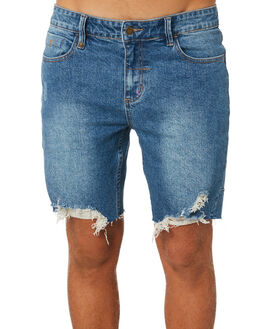 VINTAGE BLUE MENS CLOTHING THRILLS SHORTS - TDP-319VEVBLU
