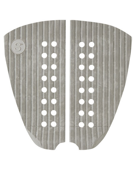 GHOST WHITE BOARDSPORTS SURF SYMPL SUPPLY CO TAILPADS - YPA-21026-GHO