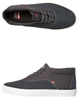 DARK SHADOW WHITE MENS FOOTWEAR GLOBE SKATE SHOES - GBSPROUTM-15235