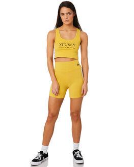 VINTAGE YELLOW WOMENS CLOTHING STUSSY ACTIVEWEAR - ST183612VYEL