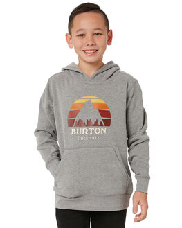 GRY HEATHER KIDS BOYS BURTON JUMPERS + JACKETS - 148971020