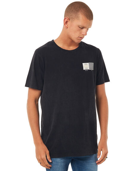 BLACK MENS CLOTHING ST GOLIATH TEES - 4308026BLK