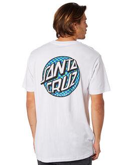 WHITE MENS CLOTHING SANTA CRUZ TEES - SC-MTD8010WHT