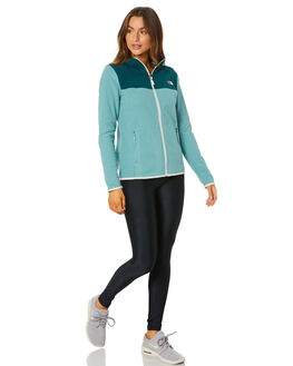 TRELLIS GREEN WOMENS CLOTHING THE NORTH FACE JACKETS - NF0A48KIEP8