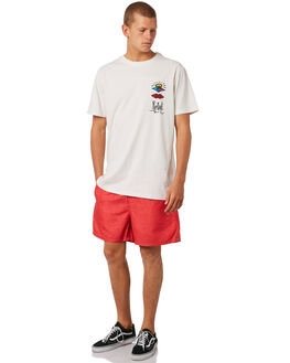 LIGHT RED MENS CLOTHING RIP CURL BOARDSHORTS - CBORA18940
