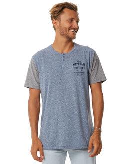 NAVY GREY MENS CLOTHING IMPERIAL MOTION TEES - 201703006020NAVY