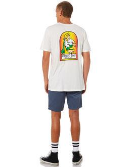WHITE MENS CLOTHING KATIN TEES - TSKBL00WHT