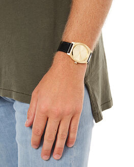 ALL GOLD BLACK BROWN MENS ACCESSORIES NIXON WATCHES - A11372591