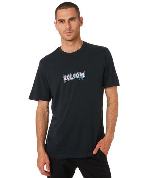 BLACK MENS CLOTHING VOLCOM TEES - A5001945BLK