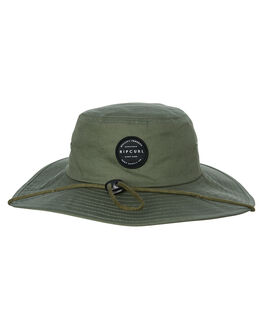 MID GREEN MENS ACCESSORIES RIP CURL HEADWEAR - CHAEB19436