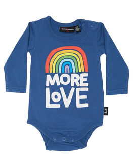 BLUE KIDS BABY ROCK YOUR BABY CLOTHING - BGB1834-MLBLU