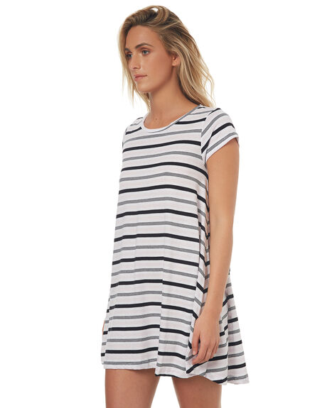 LAV STRIPE WOMENS CLOTHING SILENT THEORY DRESSES - 6008238STR