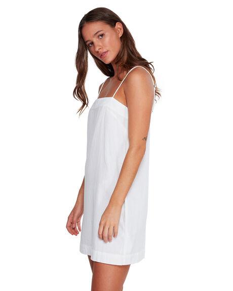 WHITE WOMENS CLOTHING BILLABONG DRESSES - BB-6592471-WHT