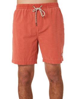 GUAVA PINK MENS CLOTHING DEUS EX MACHINA BOARDSHORTS - DMP92176AGUPNK