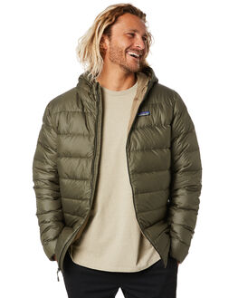INDUSTRIAL GREEN MENS CLOTHING PATAGONIA JACKETS - 84902INDG