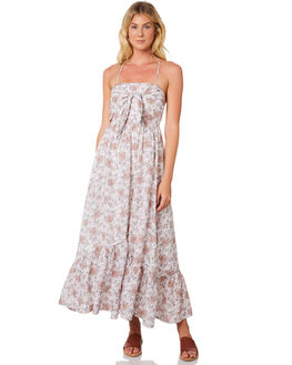WHITE OUTLET WOMENS TIGERLILY DRESSES - T395404WHT